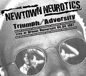 Front cover of  'Triumph Over Adversity' by Newtown Neurotics